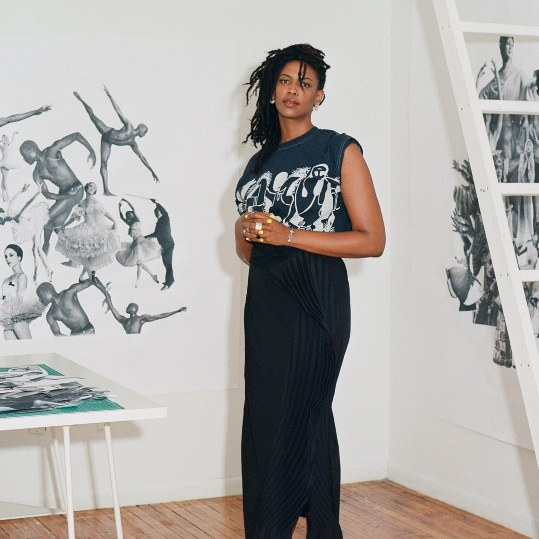 Kandis Williams in W Magazine Feature on 52 Walker Director Ebony L. Haynes