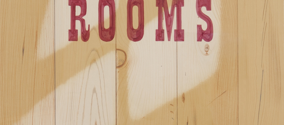 Ed Ruscha: Rooms with Words