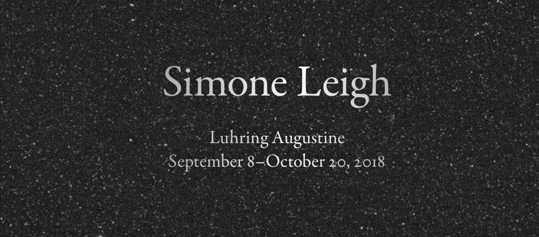 Simone Leigh, Luhring Augustine