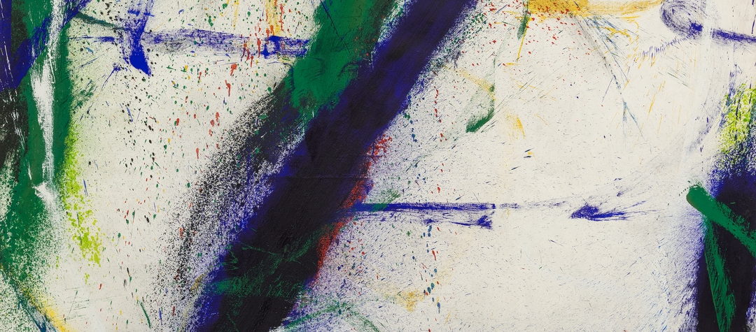 Between Tachisme and Abstract Expressionism