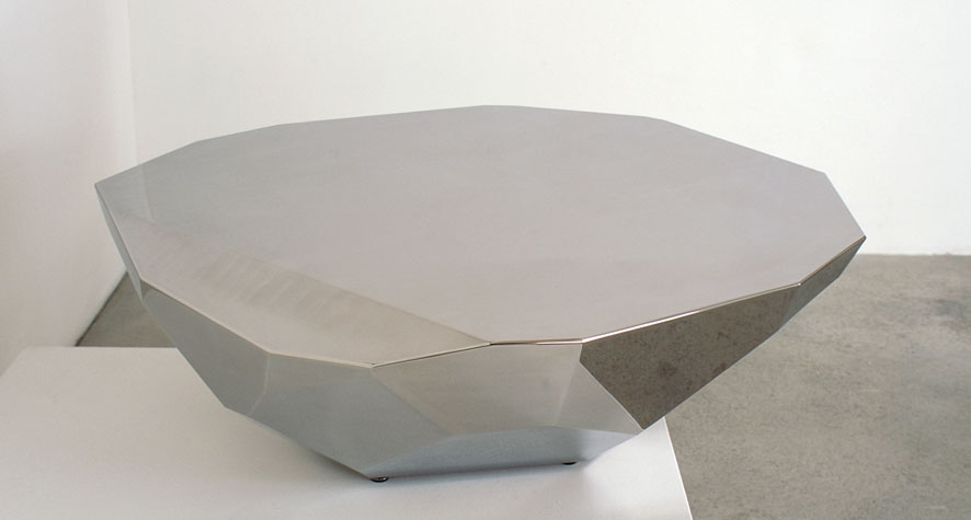 FacetMoon / 2010 / Mirror-polished stainless steel