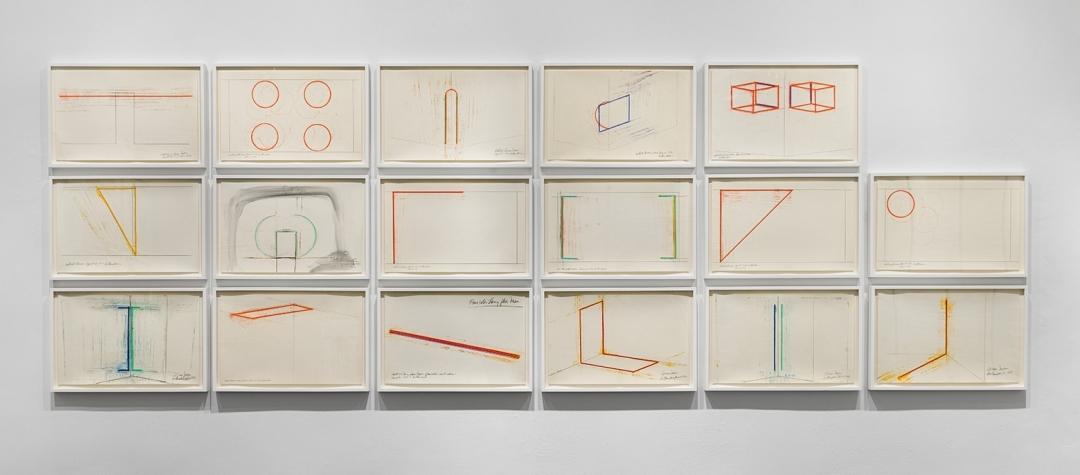 Stephen Antonakos: Project Drawings, 1967-73