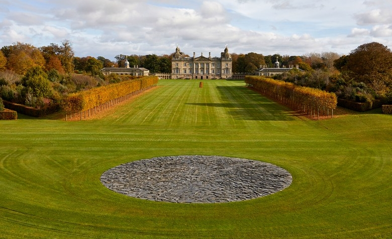 Richard Long at Houghton Hall