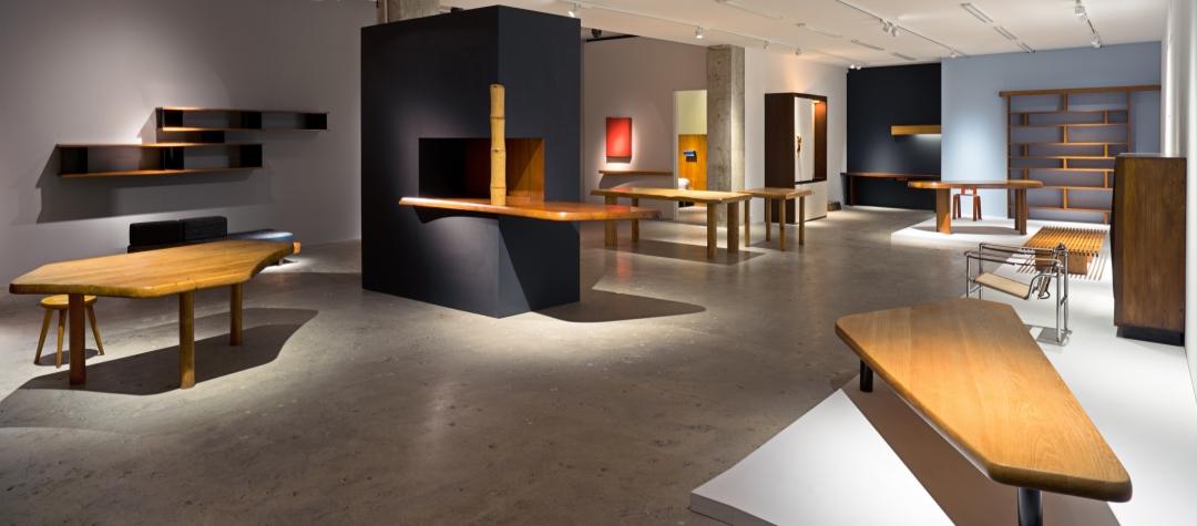 Installation view of Charlotte Perriand, New York, Venus Over Manhattan, 2018