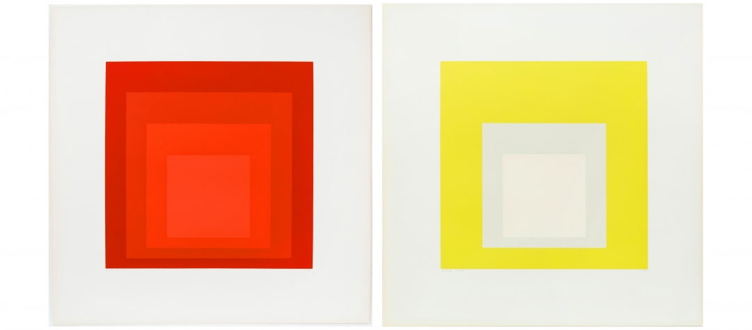 Josef Albers I-S a and I-S b