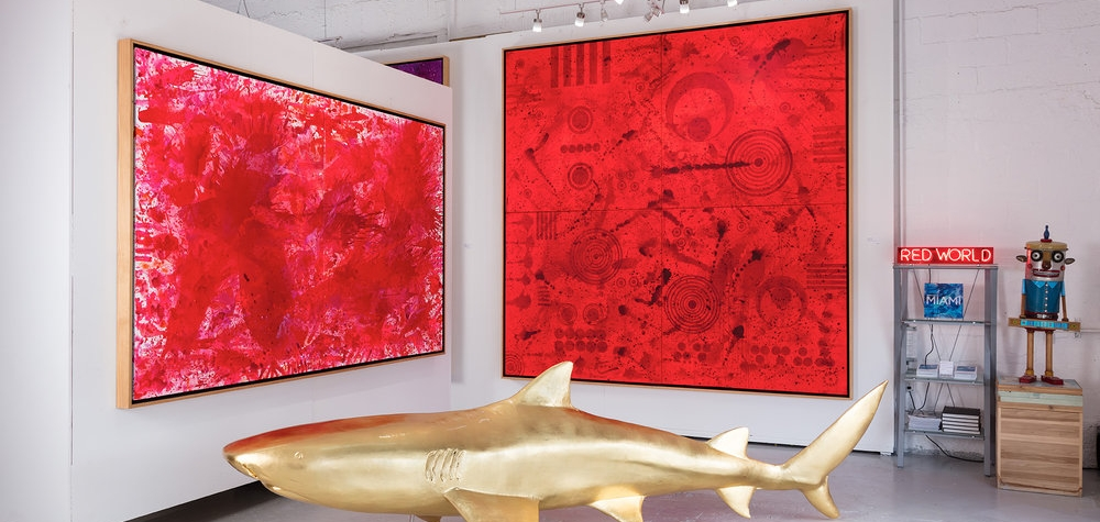 Manolis Projects, Miami fine art gallery, Large- scale art