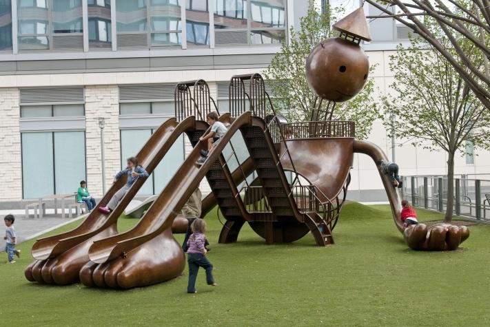 Playground, Silver Towers, New York, NY