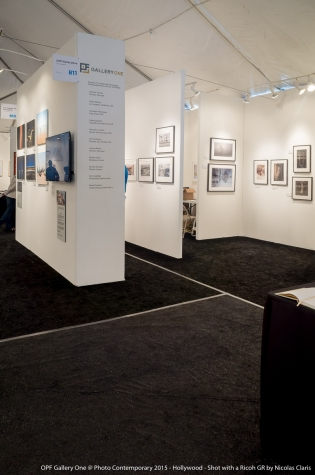 OPF Gallery One booth at Photo Contemporary 2015