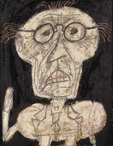 """Jean Dubuffet """"Anticultural Positions"""""""