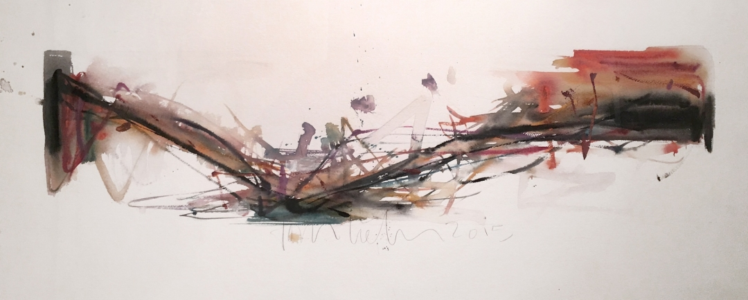Tom Lieber, untitled watercolor