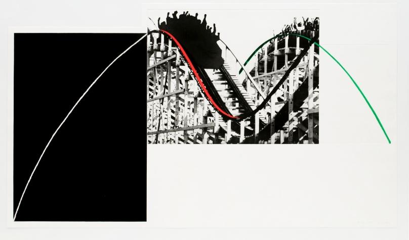 John Baldessari, Rollercoaster