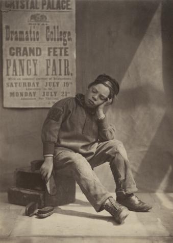 "Oscar Gustave REJLANDER (English, born in Sweden, 1813-1875) ""It Won't Rain"", 1862 Albumen print from a collodion negative 21.7 x 15.7 cm"