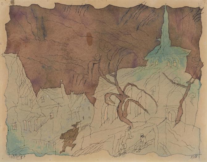 Lyonel Feininger: Watercolors and Drawings