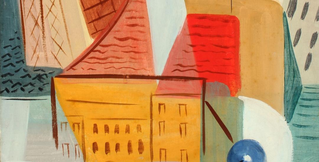 Vaclav Vytlacil oil painting