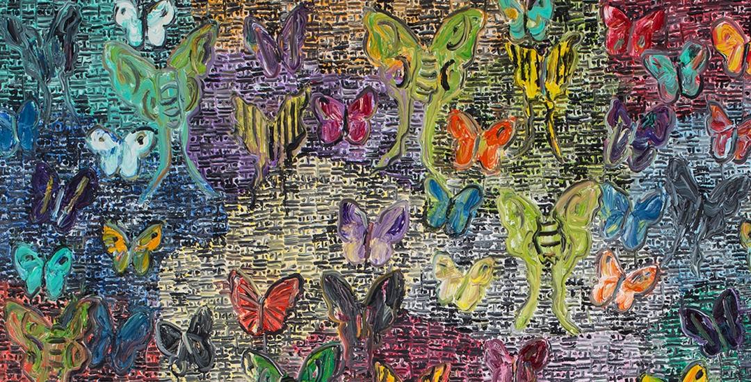 HUNT SLONEM: Garden of Eden