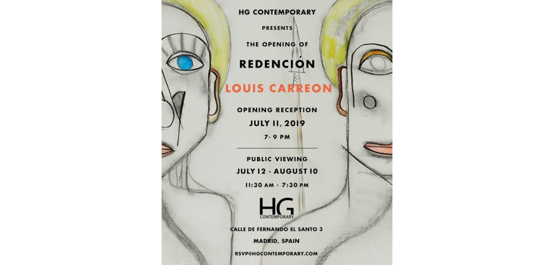 Invite to Redención Louis Carreon