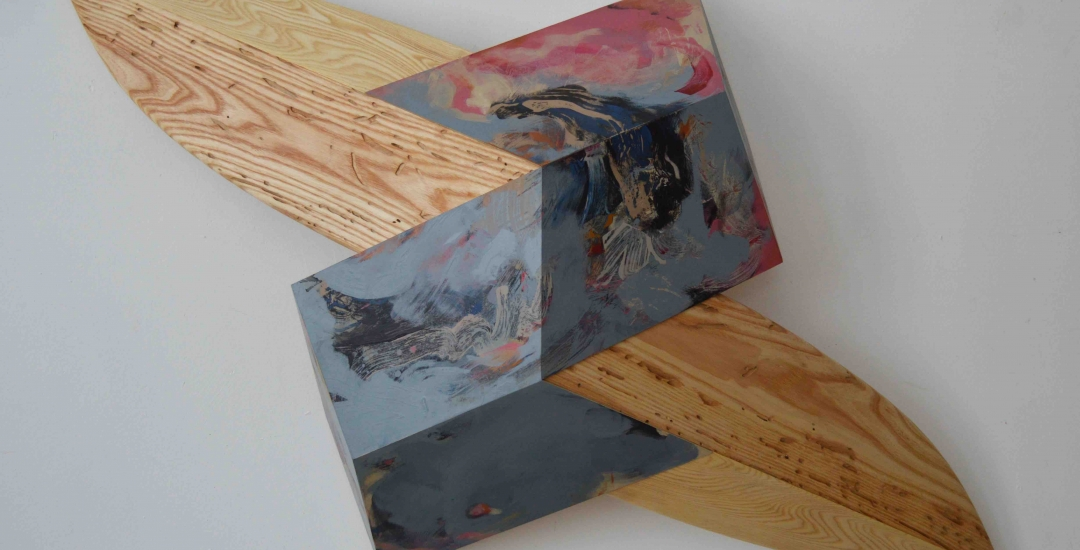 """""""Found and Made"""" A Solo Exhibition, Melinda Rosenberg"""