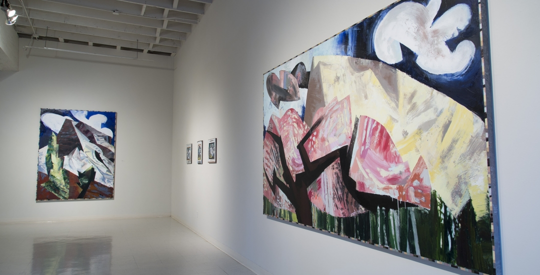 Lucinda Parker | You look at the painting to see the mountain, and you look at the mountain to see the painting