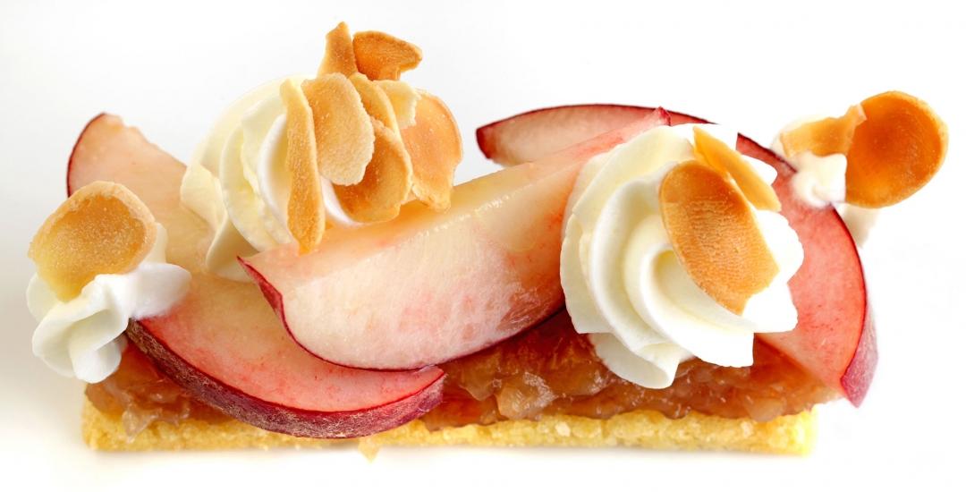 Deconstructed Peach Melba