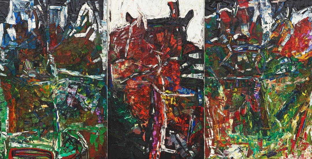 Riopelle / Miró: Color