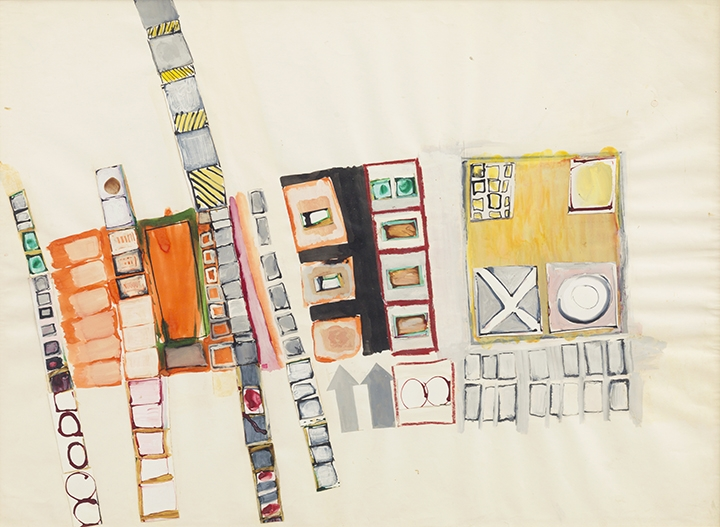 Eva Hesse: Arrows and Boxes, Repeated