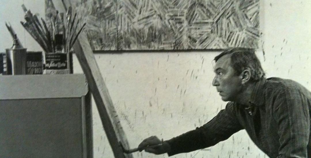 Jasper Johns: Crosshatch exhibition at Craig F. Starr Gallery information