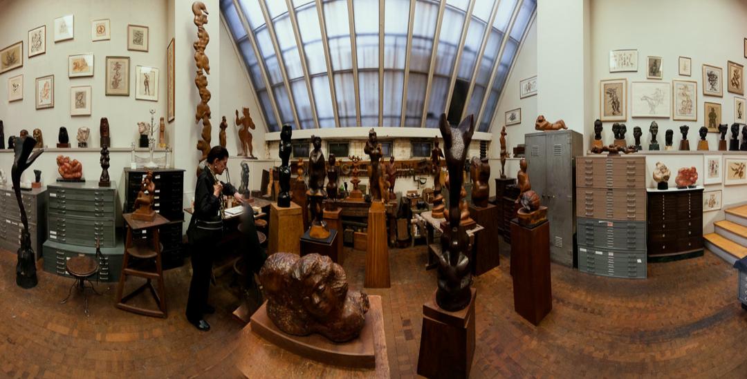 Chaim Gross's Historic Home & Studio in Greenwich Village