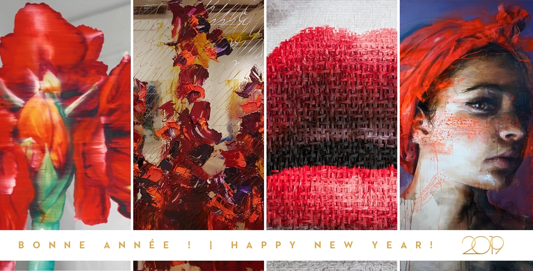 En vous souhaitant une bonne année !