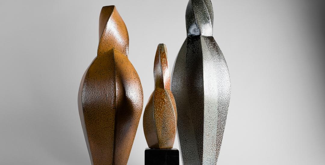 A set of vases by Aage Birck