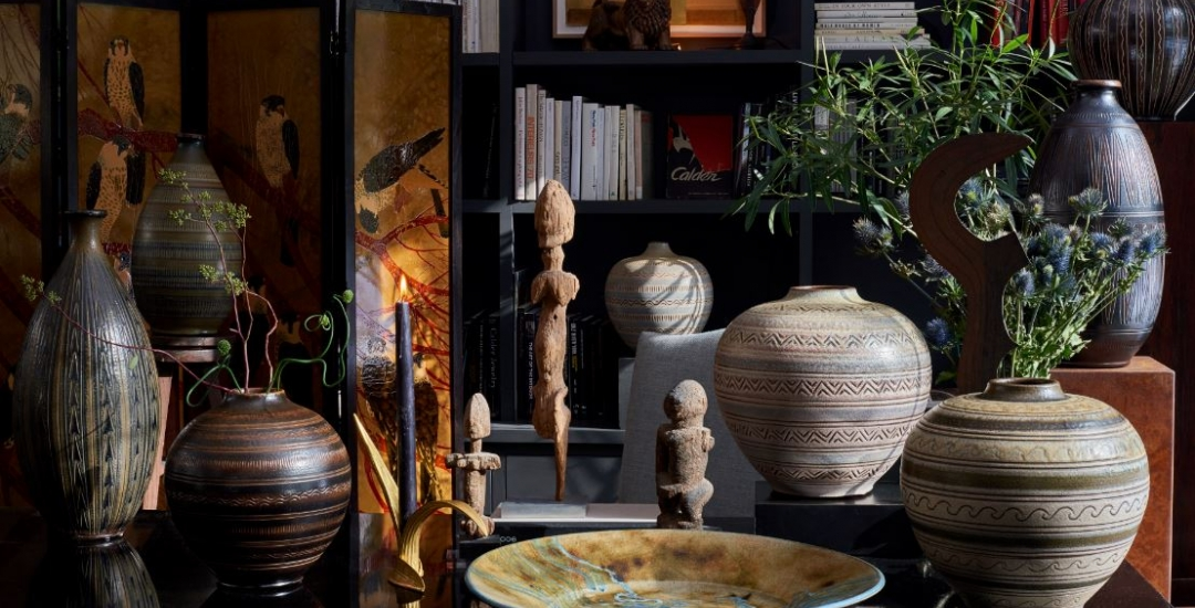 A collection of vases by Arthur Andersson