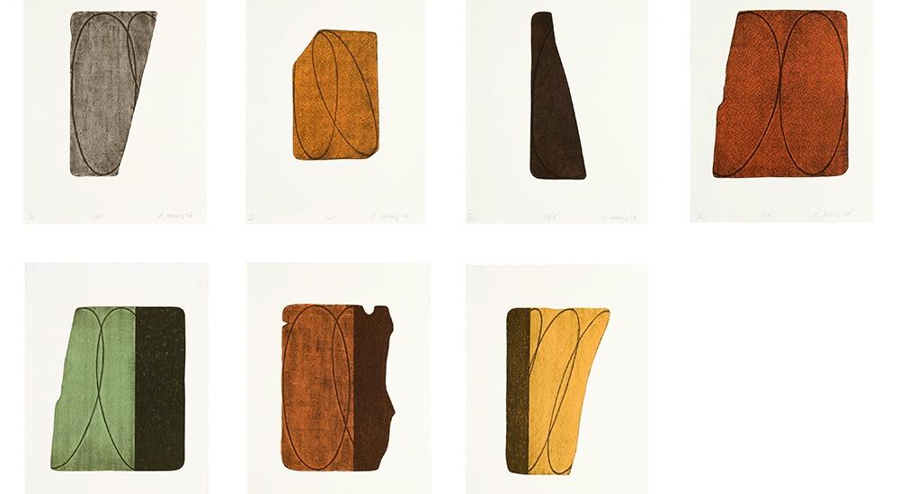 Robert Mangold Fragments