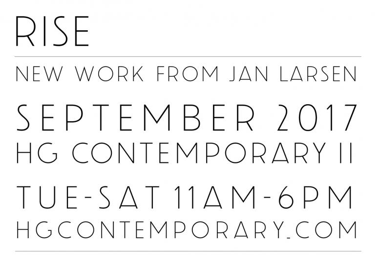 RISE: new work from Jan Larsen