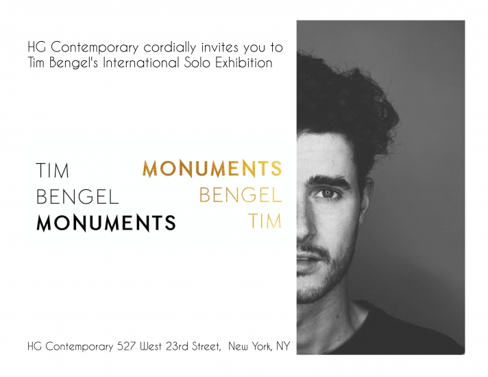 "Tim Bengel's ""Monuments"" Solo Exhibition"