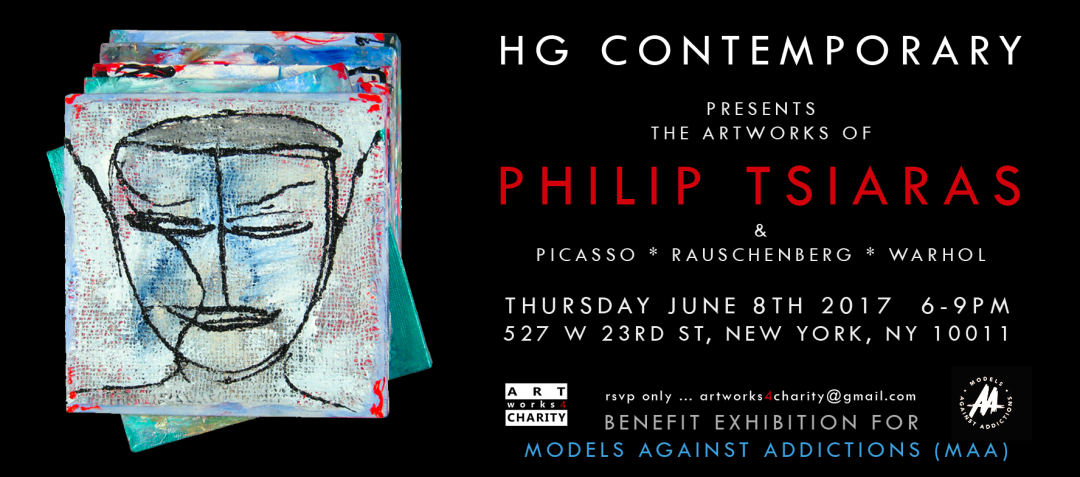 Featuring works by Pablo Picasso, Robert Rauschenberg, Andy Warhol and Philip Tsiaras
