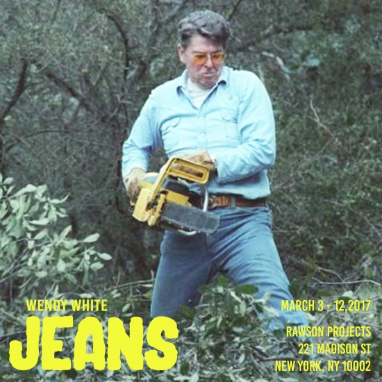 Wendy White: JEANS