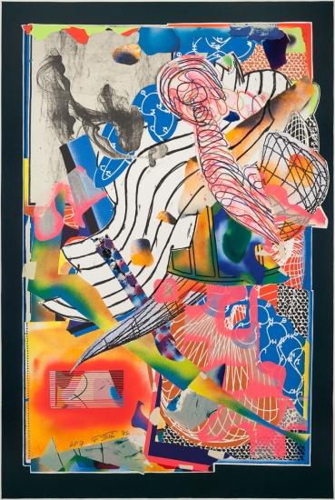 Frank Stella, (American b. 1936)