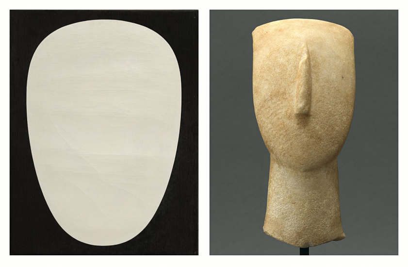 Coming Soon: Myron Stout & Cycladic Art