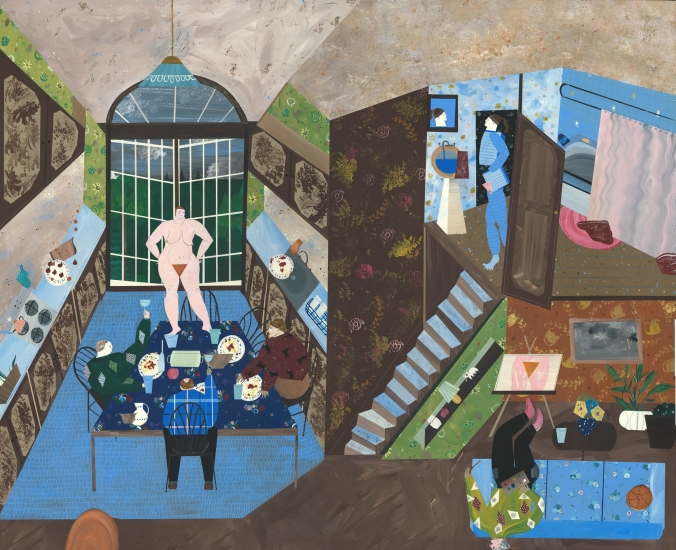 A Jealous Person: New Paintings by Andrea Joyce Heimer