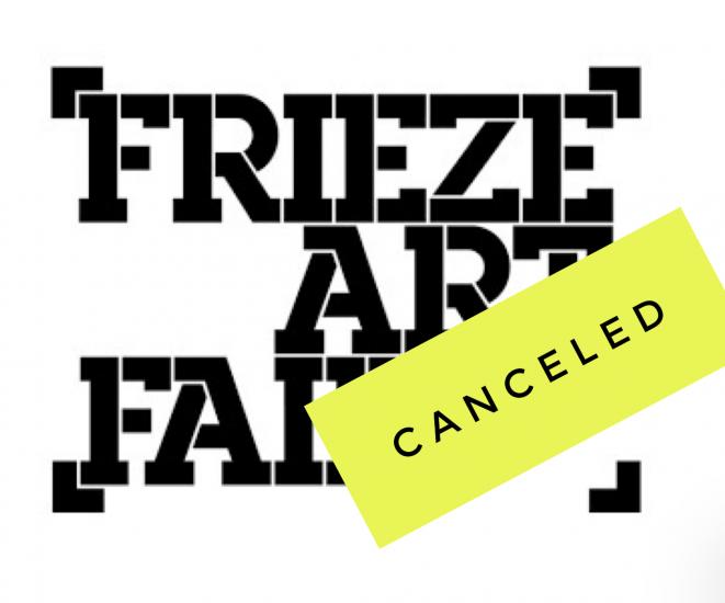 Frieze NY Canceled
