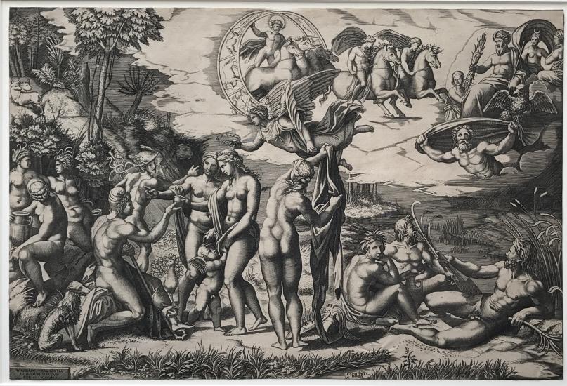 Marco Dente da Ravenna after Marcantonio Raimondi at Pia Gallo