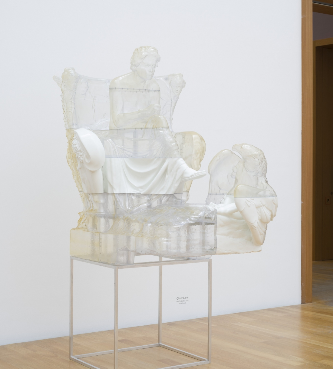 Installation view of 2017 version of Beethoven at Museum of Fine Arts Leipzig in 2020.