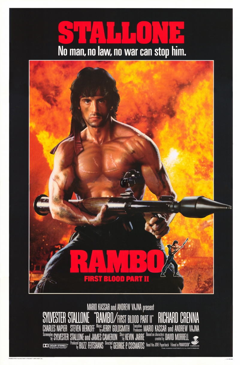 Rambo First Blood Part II Play Dates