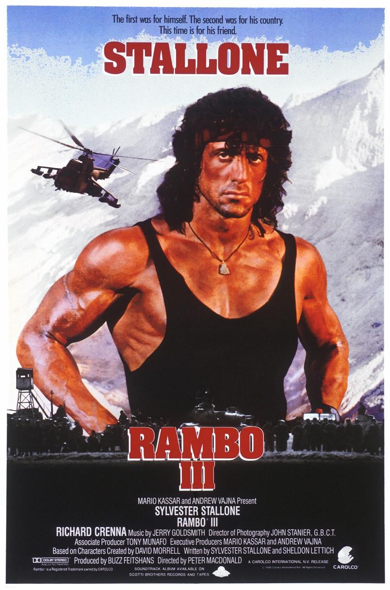Rambo III Play Dates