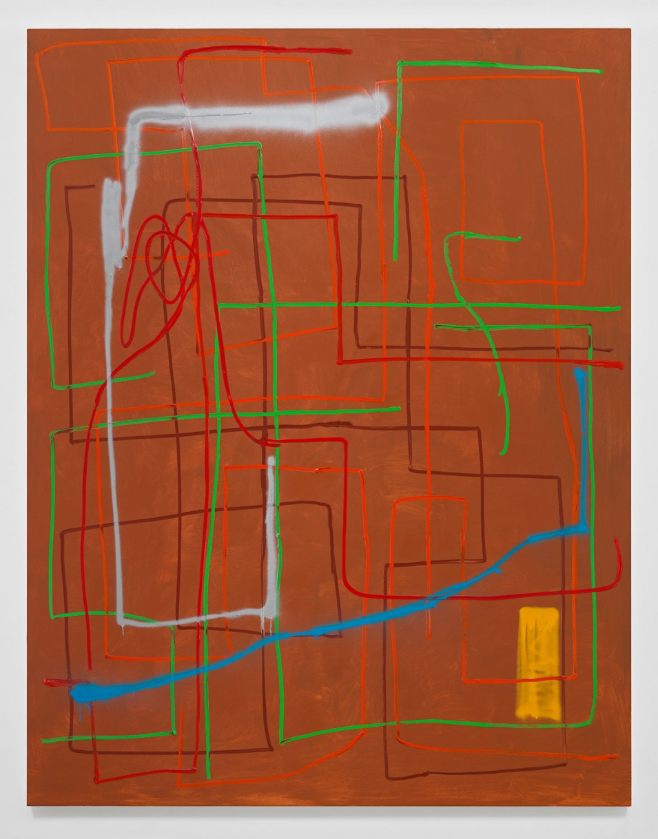 André Butzer Untitled, 2019 painting