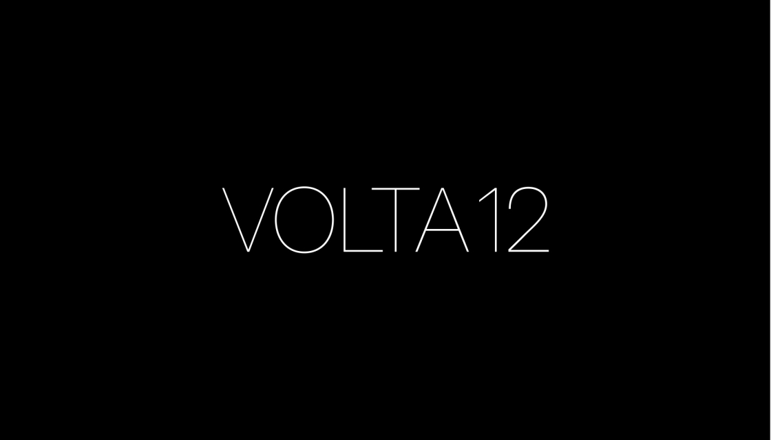 VOLTA 12 | BASEL, SWITZERLAND | JUNE 13 TO 18, 2016