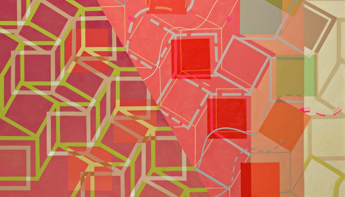 Jeanette Fintz: Worldline Schreiber Paintings...Plus