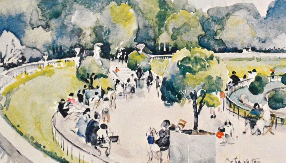 Watercolors by Martha Walter