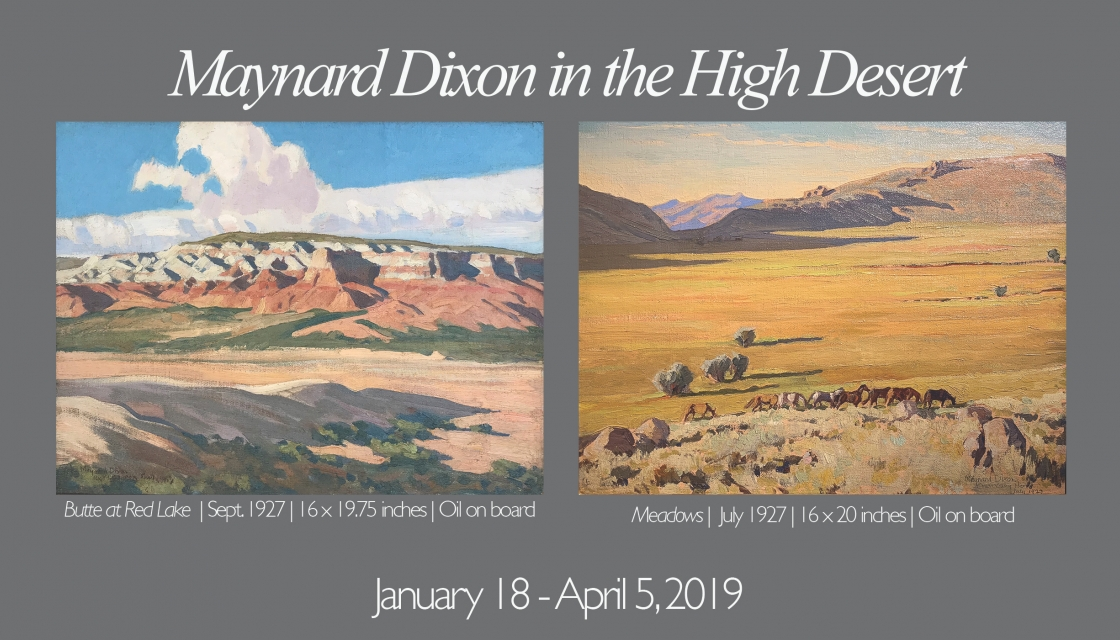 Maynard Dixon in the High Desert