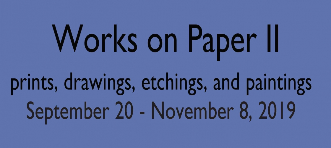 Works on Paper II
