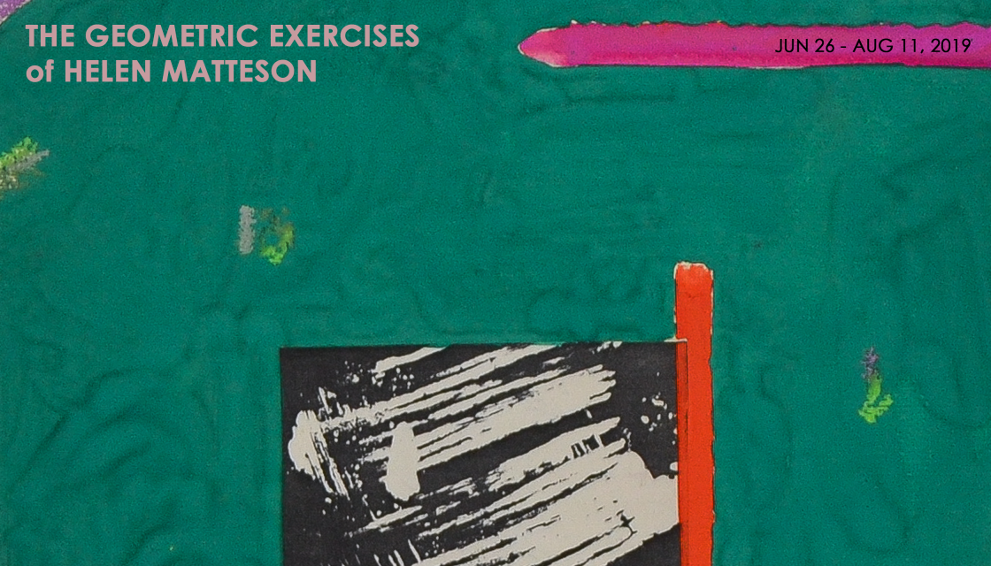 THE GEOMETRIC EXERCISES of HELEN MATTESON